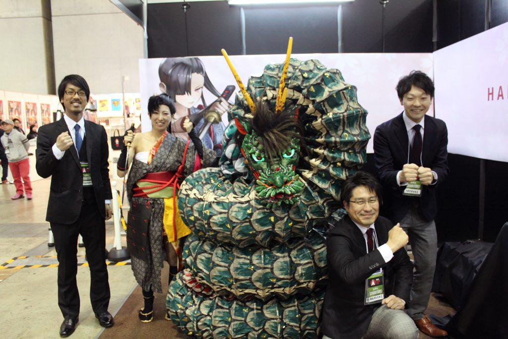 Tokyo ComicCon STAFF